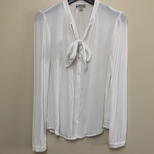 Lucky Brand Victorian blouse